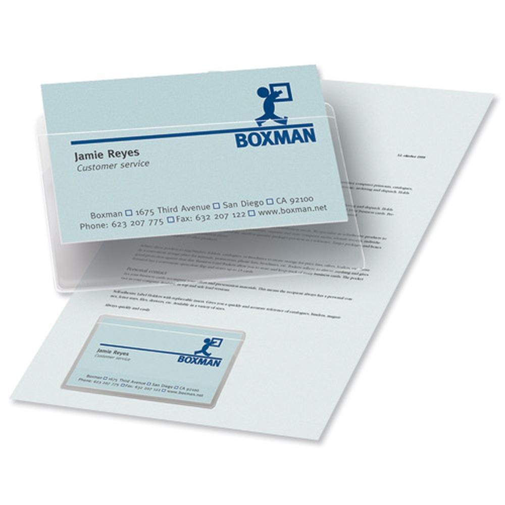 3L Business Card Pocket Short Side Open 10106(PK10)