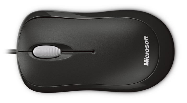 Microsoft Basic Optical Mouse for Business Black 4YH-0007