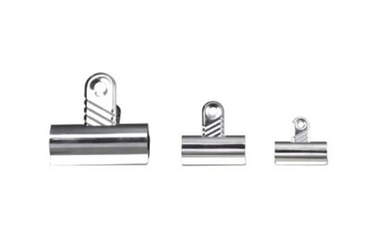 Value Letter Clip 70mm Silver PK10