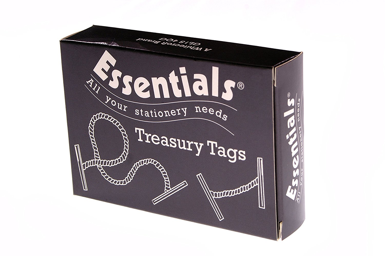 Value Treasury Tag Plas 127mm PK100