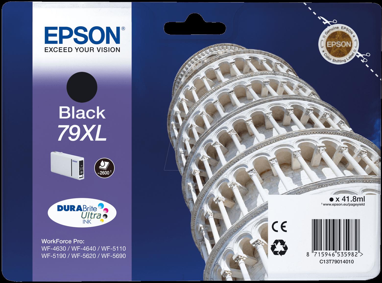Epson C13T79014010 Black ink cartridge