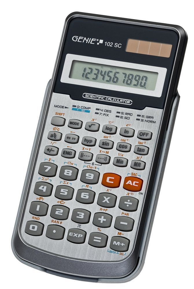 Value  102 SC scientific calculator