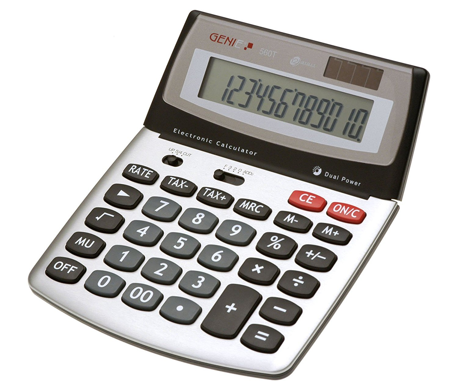 Value Genie 560T 12-digit desktop calculator 10270
