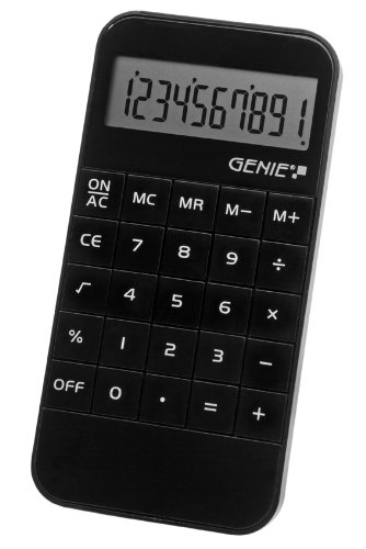 Handheld Calculator ValueX 40 B 10-Digit Pocket Calculator
