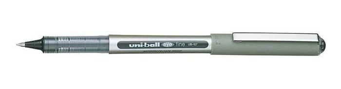 Uni-ball eye UB157 Rollerball Med 07mm Black PK2