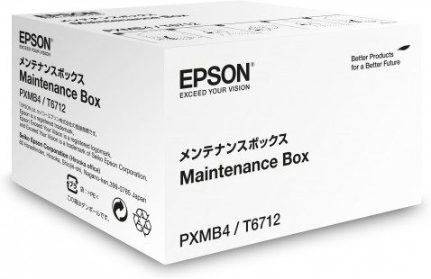 Maintenance Kits Epson C13T671200 T6712 Maintenance Box 75K