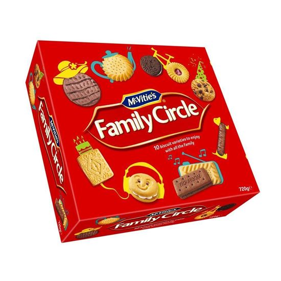 Family Circle Assted Biscuits 670g
