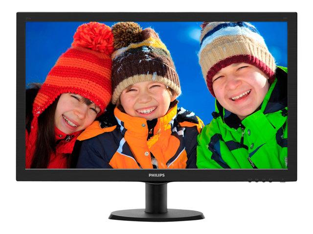 Monitors PHILIPS 273V5LHSB 27 INCH Monitor LED 1