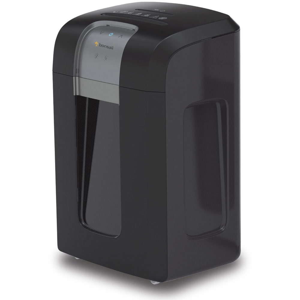 Bonsaii 3S23 Cross Cut Shredder 23L Black