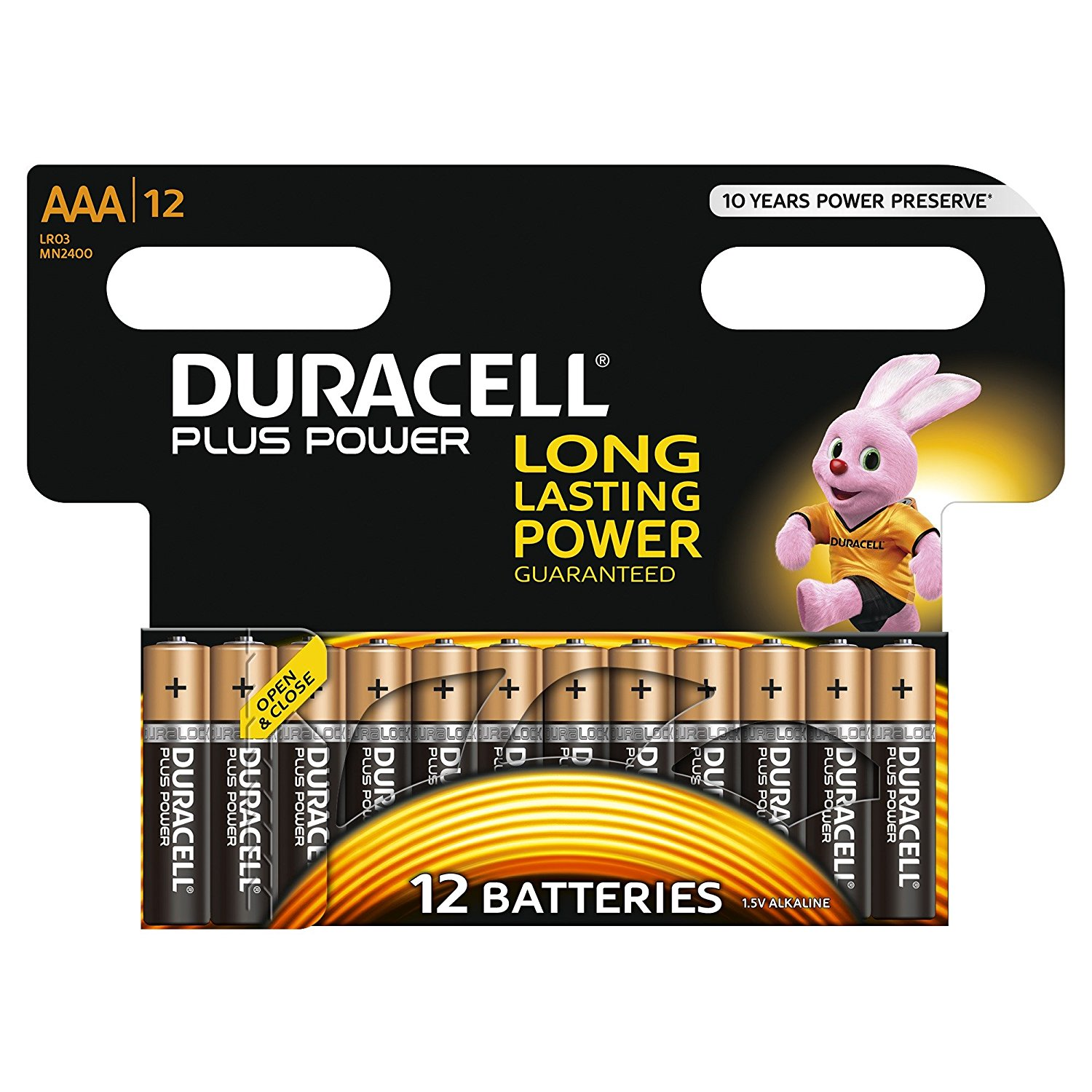 Image for AAA Duracell Batteries PK12