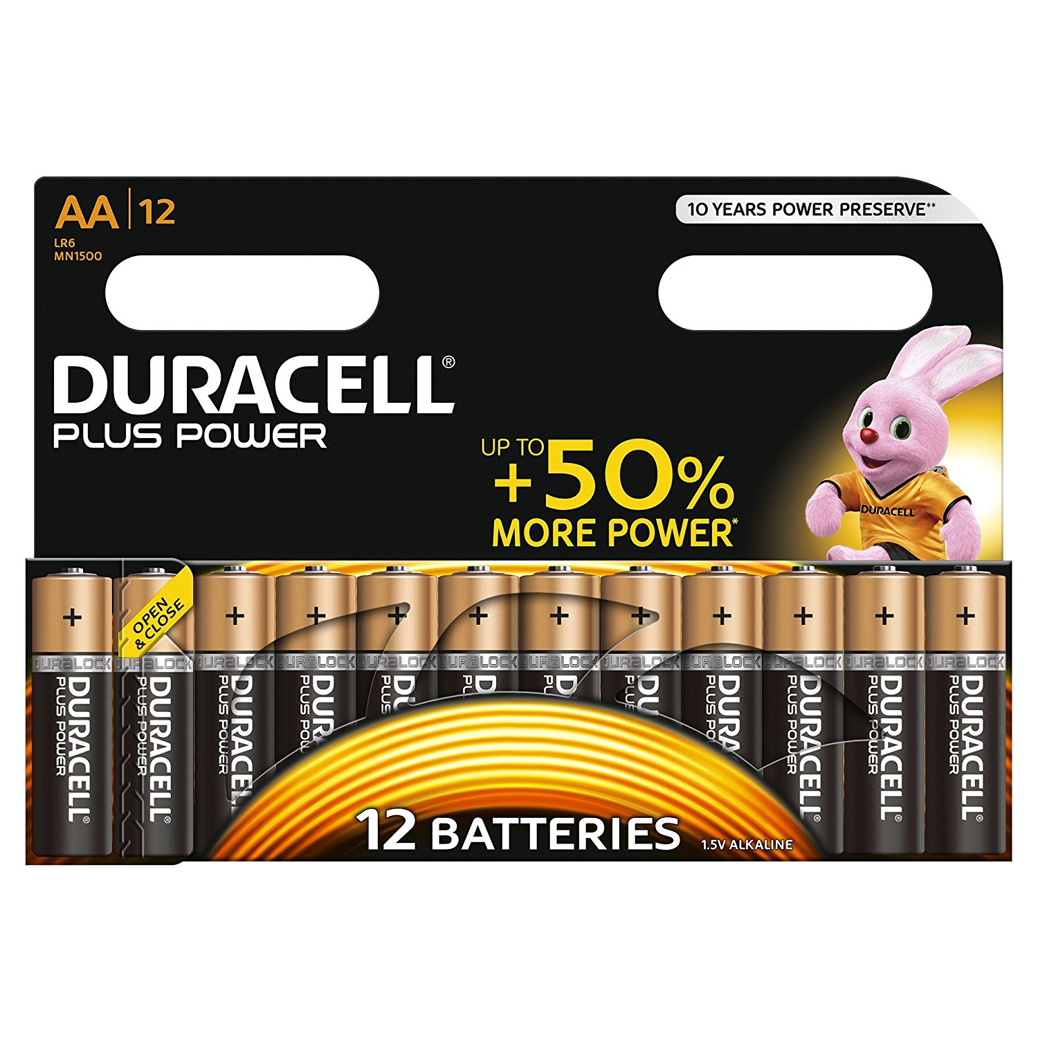 AA Duracell Batteries PK12