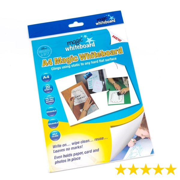 MAGIC WHITEBOARD SHEETS- 20 sheet