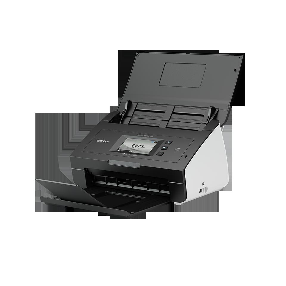 Image for Brother ADS-2600We Desktop Scanner 24ppm 1200x1200dpi 256MB WiFi USB Ref ADS2600WEZU1