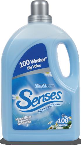 Muvo Senses Professional Fabric Conditioner Blue Breeze 5 Litre Ref SP4980MLBB166