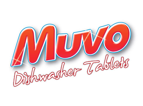 Muvo Original Dishwasher Tablets  Ref MDT100PF  [Pack 100]