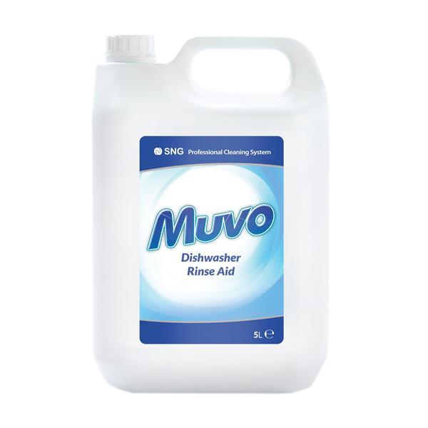Muvo  Pro Dishwasher Rinse Aid 5 Litres Ref M5LTRRA