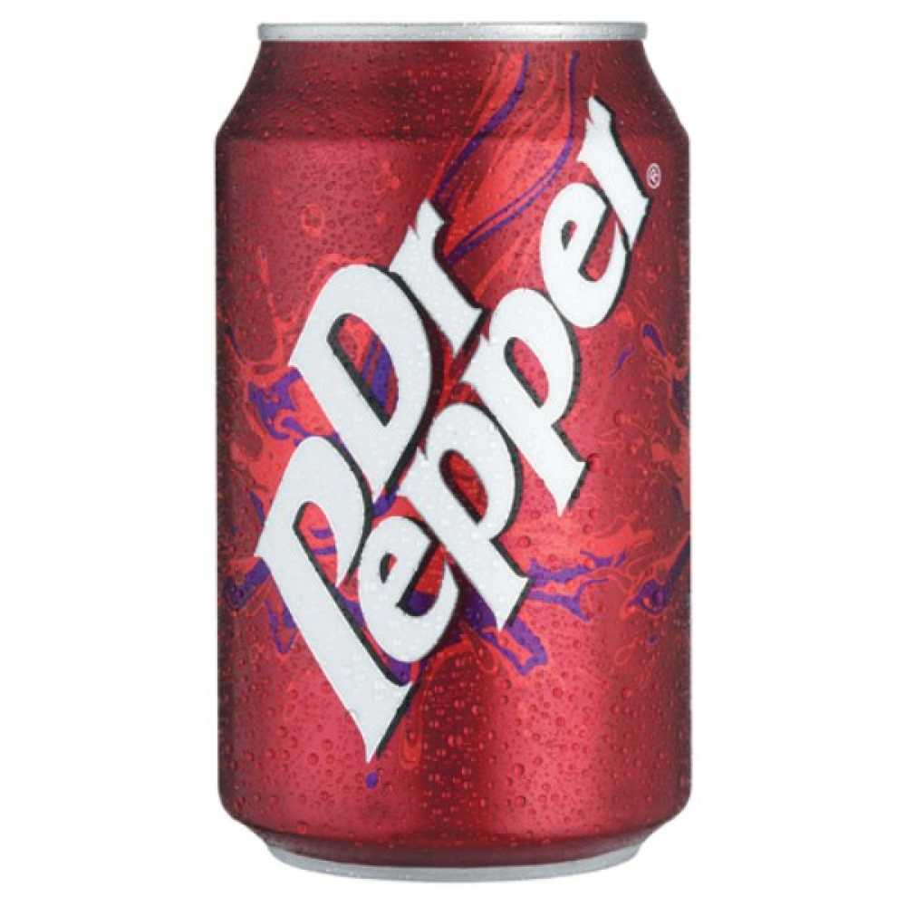Dr Pepper 330ml Cans (Pack 24)