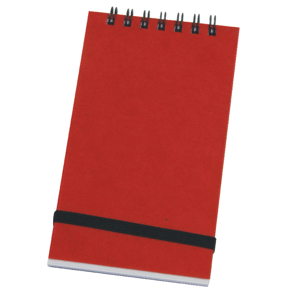 Silvine Twinwir Nbook Red 76X127mm PK12