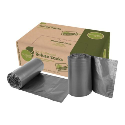 Bin Bags & Liners ValueX Medium Duty Refuse Sack Black (Pack 200)