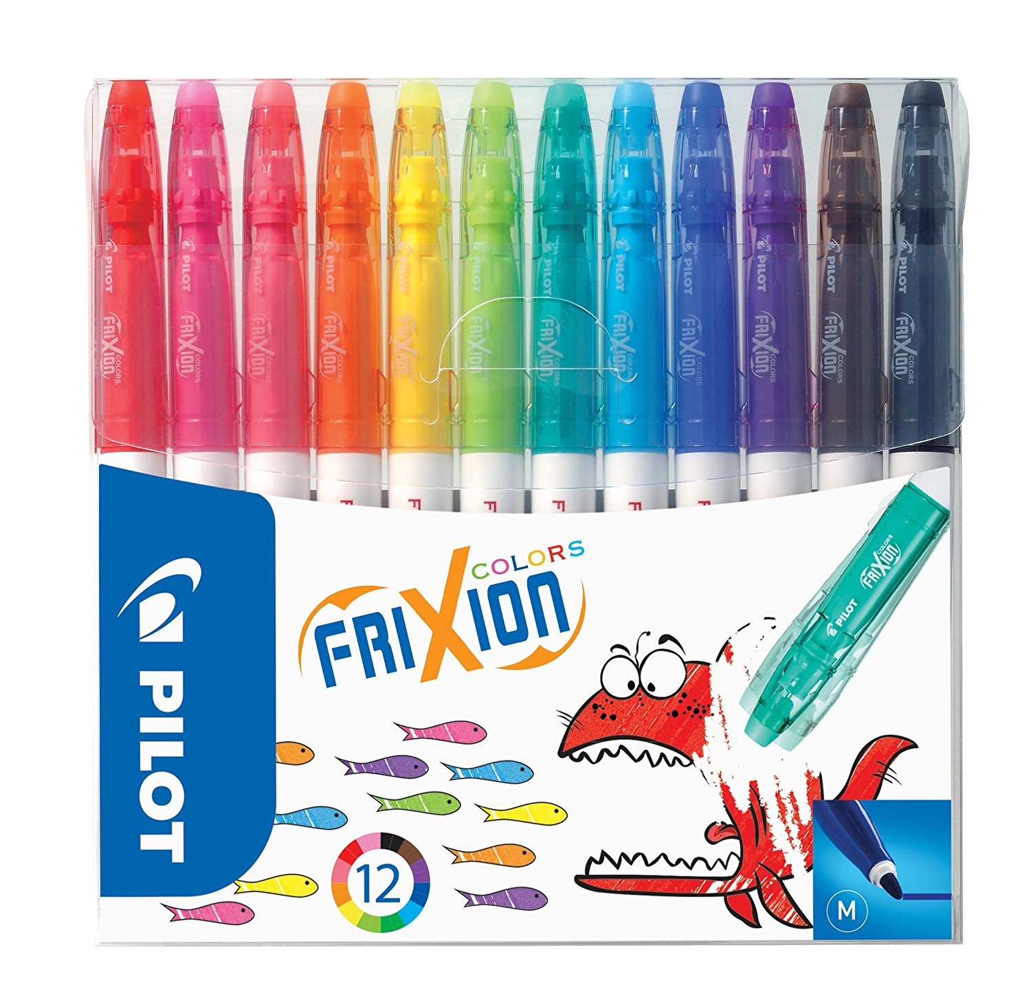 FriXion Colourng Pens Astd Wallt 12