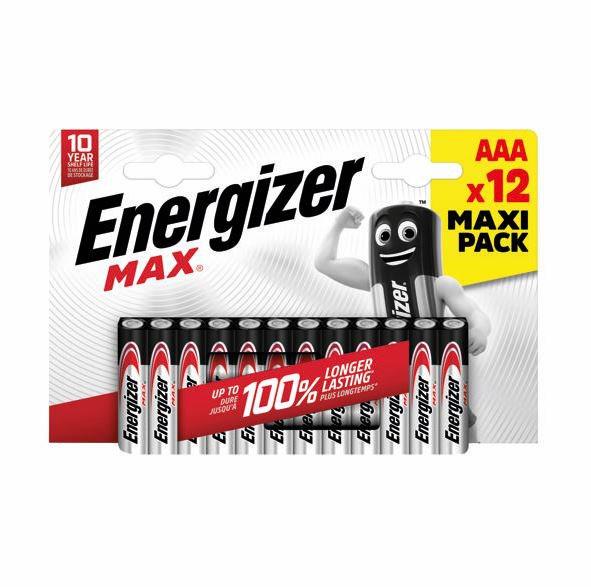 AAA Energizer MAX E92/AAA PK12