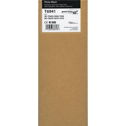 Printheads Epson C13T694100 T6941 Black Ink 700ml