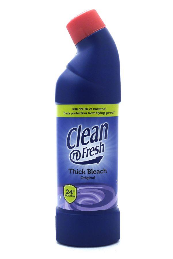 Cleaning Chemicals Clean N Fresh Thick Bleach Original 750ml