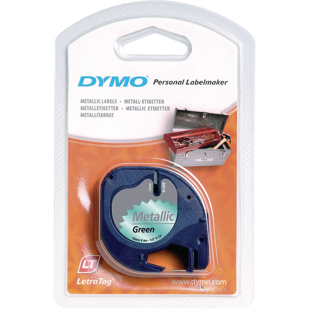 DYMO LetraTag Tape 12mm Iron-on WT