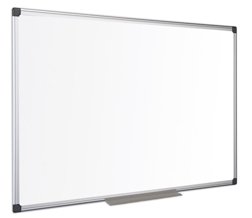 Magnetic Bi-Office Maya Enamel Aluminium Framed Whiteboard 90x60cm