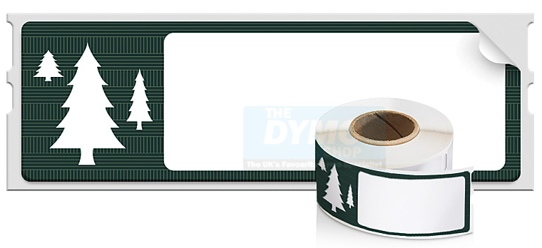 Dymo Tree  Holiday Labels 28x89mm Ref 1960120