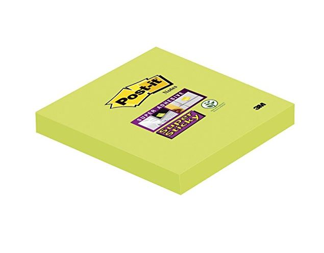 Post-it SSticky 76x76mm Asparagus PK6