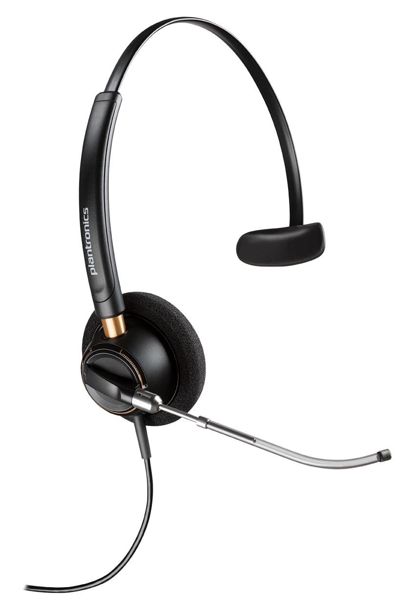 Headsets Plantronics EncorePro HW510 Mono Headset Voice Tube