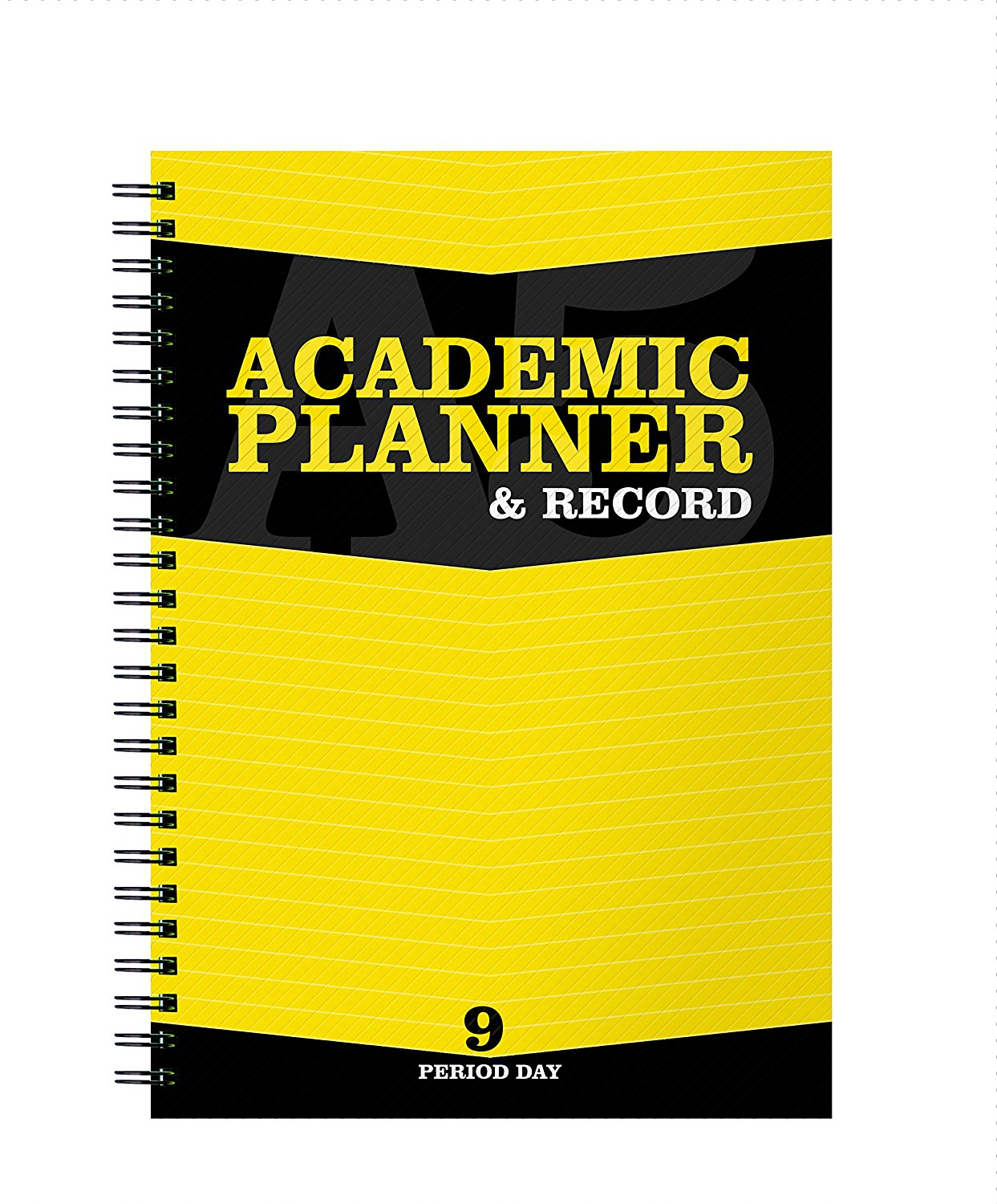 Silvine A5 Teachers Planner and Record Book 9 Period