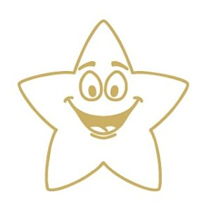 Colop Motivational Stamp Gold Star