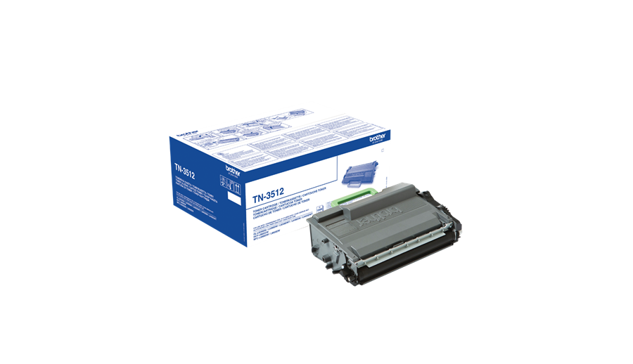 Brother TN3512 Laser Toner Cartridge Ultra High Yield Page Life 12000pp Black Ref TN3512