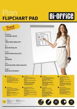 A1 Plain Flipchart Pad PK5