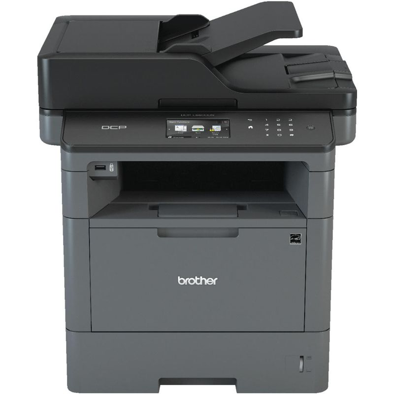 Multifunctional Machines Brother DCPL5500DN A4 Mono Multifunction Printer