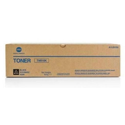 Laser Toner Cartridges Konica Minolta A1U9150 TN616K Black Toner 41.5K