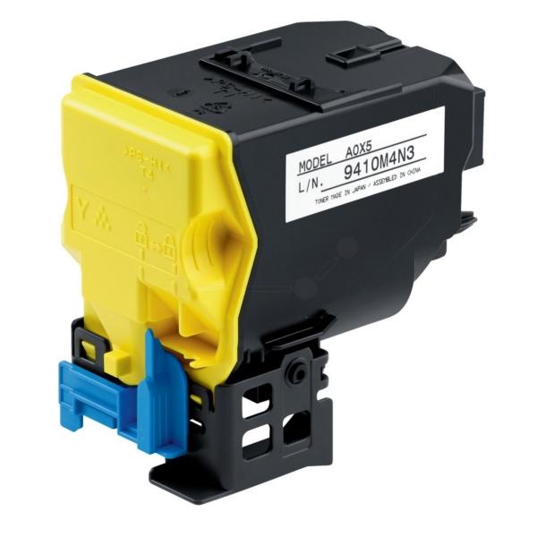 Laser Toner Cartridges Konica Minolta A5X0250 TNP48Y Yellow Toner 10K
