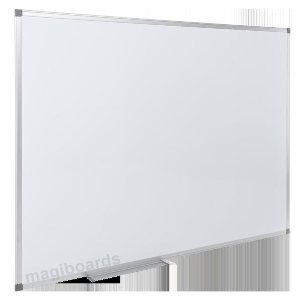 Magnetic Magiboards Slim Aluminium Frme Magnetic Whitebrd 1200x900
