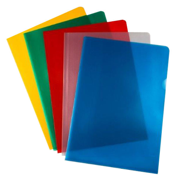 Value Cut Flush Folder Asst A4 PK50