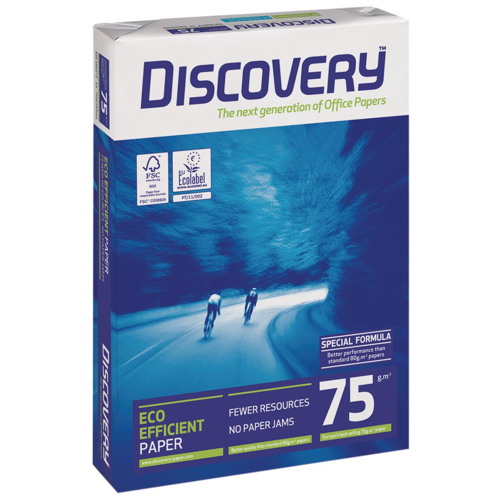 A4 Discovery Paper 75gsm A4 BX10 reams