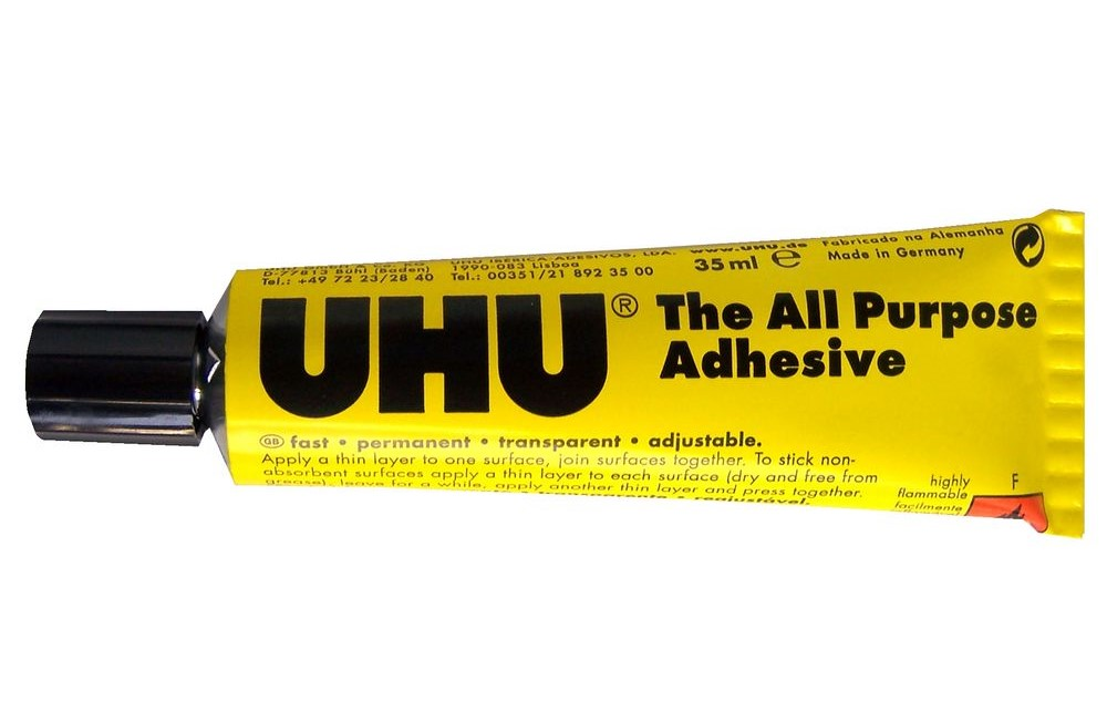 Strong Glues UHU All Purpose Adhesive 35ml Blister (Pack 10)