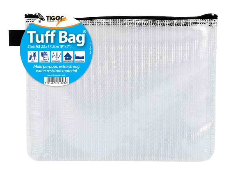 Zip Bags Tiger Tuff Bag A5
