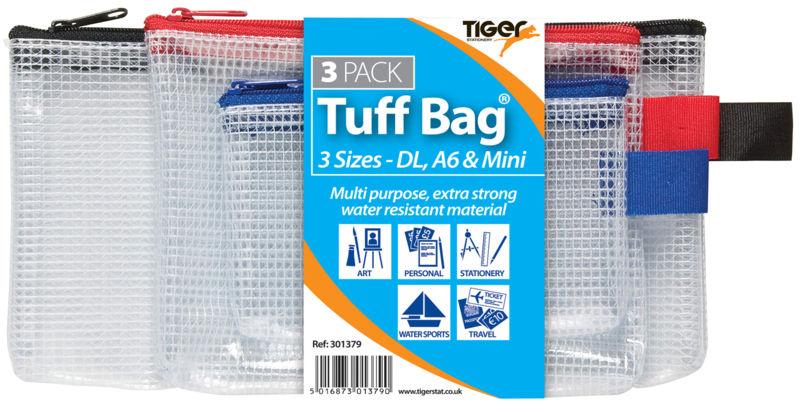 Tiger Tuff Bag Triple Pack