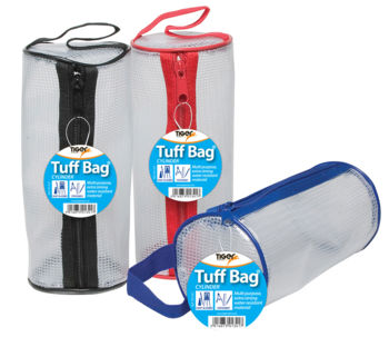 Tiger Tuff Bag Cylinder Pencil Case PK12