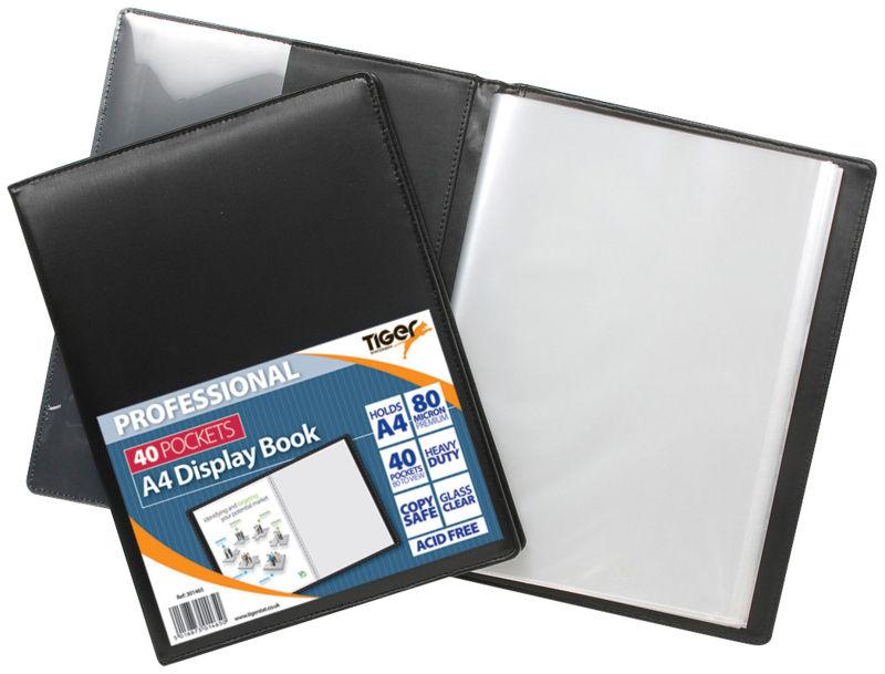 Tiger A4 Professional Display Book 40pkt