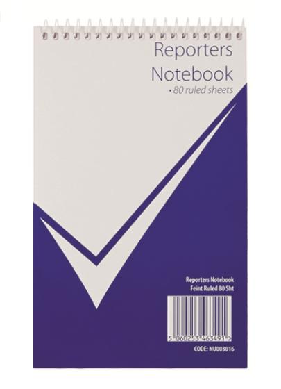 Reporters Notebook 160P Feint PK20