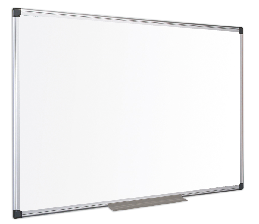 Magnetic Bi-Office Maya Enamel Alu Framed Whiteboard 120x90cm