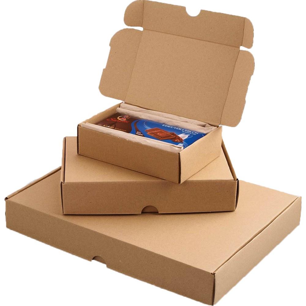 Smartbox Brown Econ Mail Box 225x155x45mm A5 Brown PK25